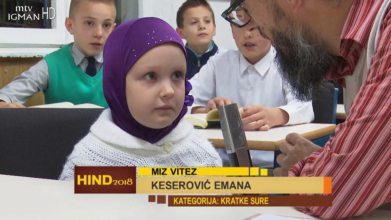 5 .TAKMIČENJE U UČENJU KUR'ANA HIND 2017. - 1. dio - MTV IGMAN