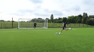 Forfeit football penalty shootout challenge!!