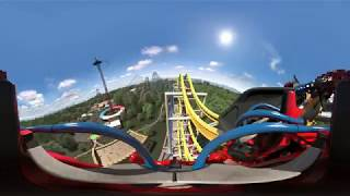 WONDER WOMAN COASTER POV 360° | SIX FLAGS MÉXICO