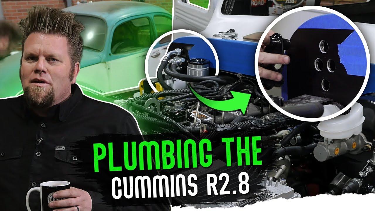 How to Plumb Turbo Piping R2.8; Willys Wagon Episode 14