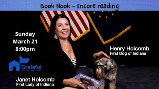 ENCORE! First Lady of Indiana Janet Holcomb and her dog Henry!