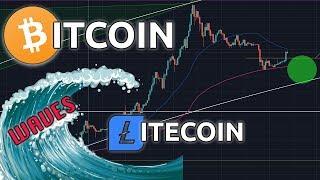 BITCOIN & LITECOIN WAVES | BTC LTC Price Update