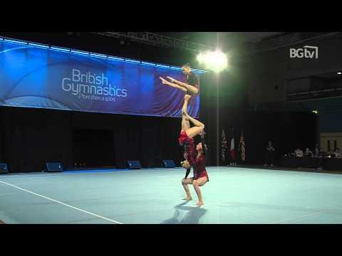 Australia - Women's Group - Senior -  Balance - Acrobatic International