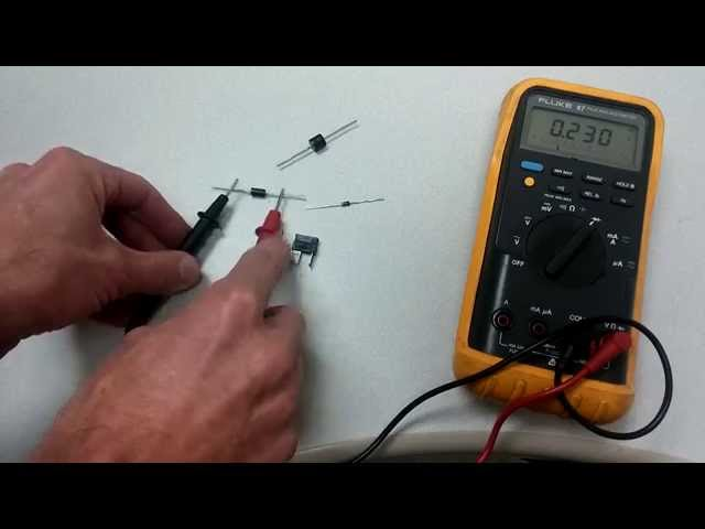 3 Ways to Test a Silicon Diode with a Multimeter - wikiHow