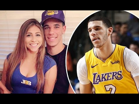 6b51fc2c8ee Laker Lonzo Ball expecting first child with Denise Garcia - YouTube