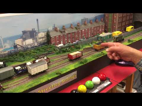 Streetley Shunting Puzzle