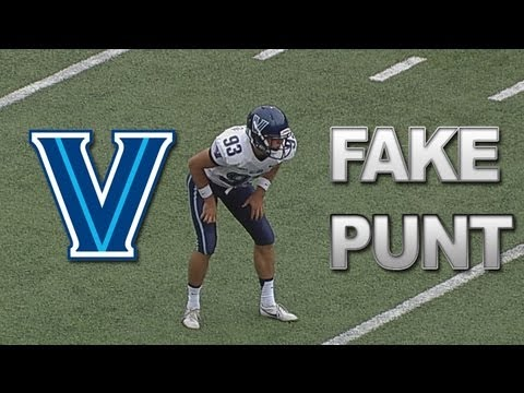 Villanova Scores on Fake Punt vs Boston College | ACCDigitalNetwork