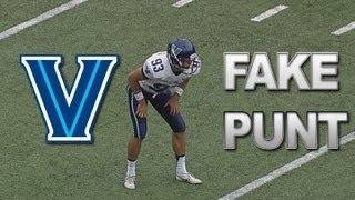 Villanova Scores on Fake Punt vs Boston College | ACCDigitalNetwork