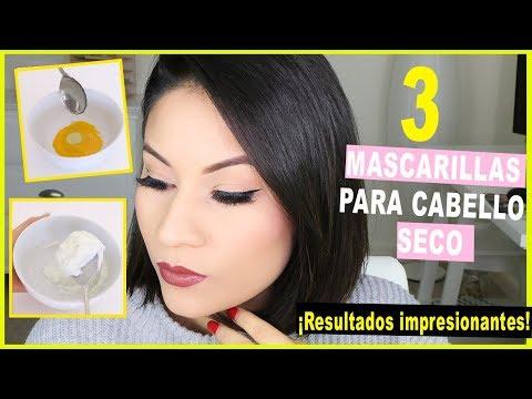 Recetas caseras para el cabello seco maltratado y sin brillo