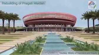 Redevelopment plan of Pragati Maidan, N.D.