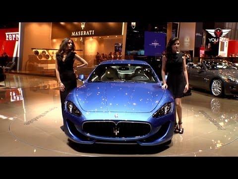 ► 2012 Maserati GranTurismo Sport @ Geneva
