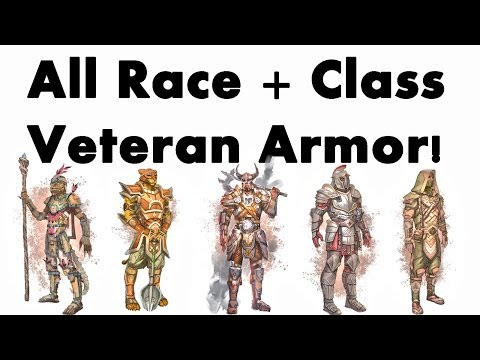 The Elder Scrolls Online: All Races + Class Armour (Ultra HD)