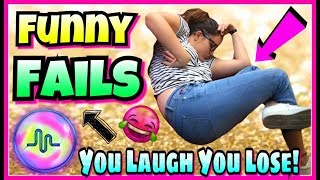 Try Not To laugh Or Grin Challenge 2017 FUNNY FAILS Musically Edition