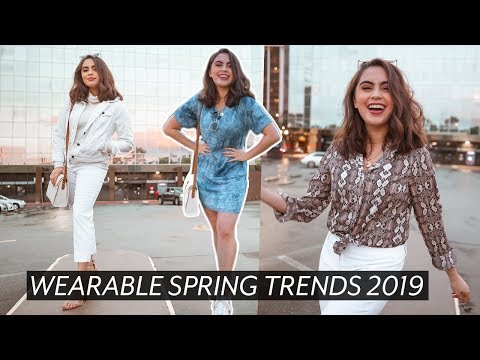 Top Wearable Fashion Trends Spring 2019 // Jessica Neistadt ♡. http://bit.ly/2GPkyb3