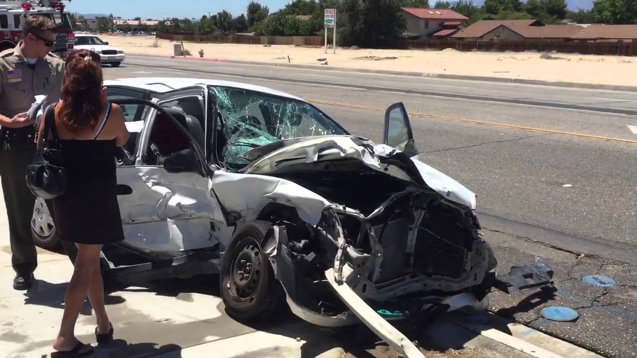 Car Accident in Victorville