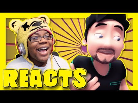 JackSepticEye & Markiplier Animation THE HELP DESK 2 by Bumbleworth | Animation Reaction