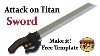 Make the Attack on Titan Sword