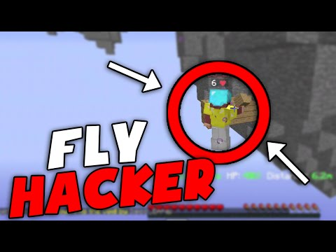 FLY HACKER! | Hypixel Skywars