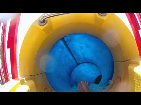 Water slide on the Carnival Sensation cruise ship