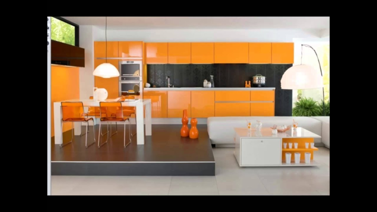 moderne k che farben youtube. Black Bedroom Furniture Sets. Home Design Ideas
