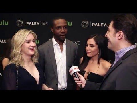 "Ashley Johnson, Rob Brown & Audrey Esparza Talk ""Blindspot"" witCh Arthur Kade"