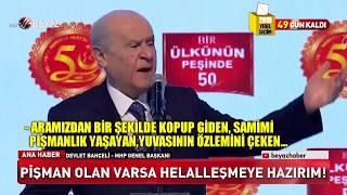 Devlet Bahçeli'den Kılıçdaroğlu'na sert tepki!