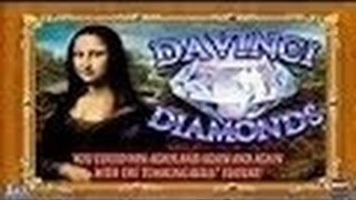 Handpay- Davinci Diamonds Slot Machine Live Play