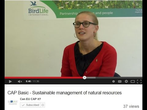 CAP Basic - Sustainable management of natural resources