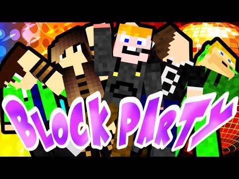 Minecraft - Block party [MI VAN PUPÁKOK???]