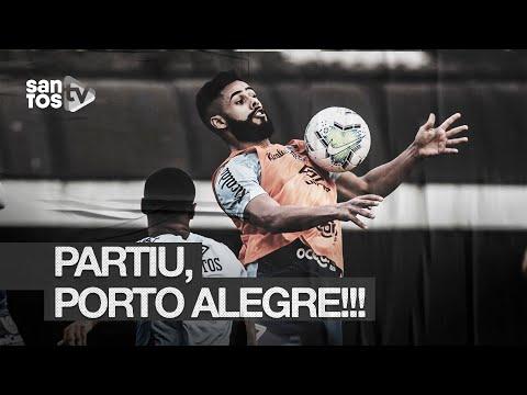 PARTIU POA! O ÚLTIMO TREINO DO #SANTOS ANTES DE ENCARAR O INTER | DE OLHO NO TREINO (12/08/20)
