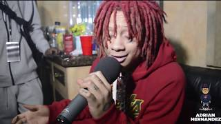 TRIPPIE REDD'S MOST AWKWARD INTERVIEW OF ALL-TIME, SO FAR. REVEALS AGE & LOVE FOR KIRK FRANKLIN