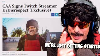 DrDisRespect's BIGGEST ANNOUNCEMENT Of His Career (Television, Motion Pictures, etc.) (1/10/19)