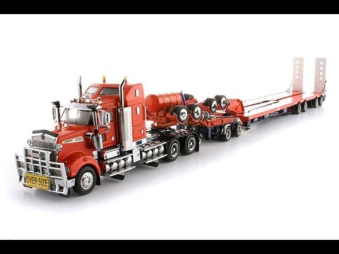 Diecast Trucks and Semi Truck Models Kenworth Toy for KIDS - YouTube