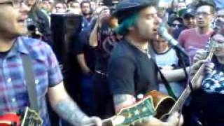 Fat Mike & Eric Melvin Play an Excerpt from The Decline at Occupy LA