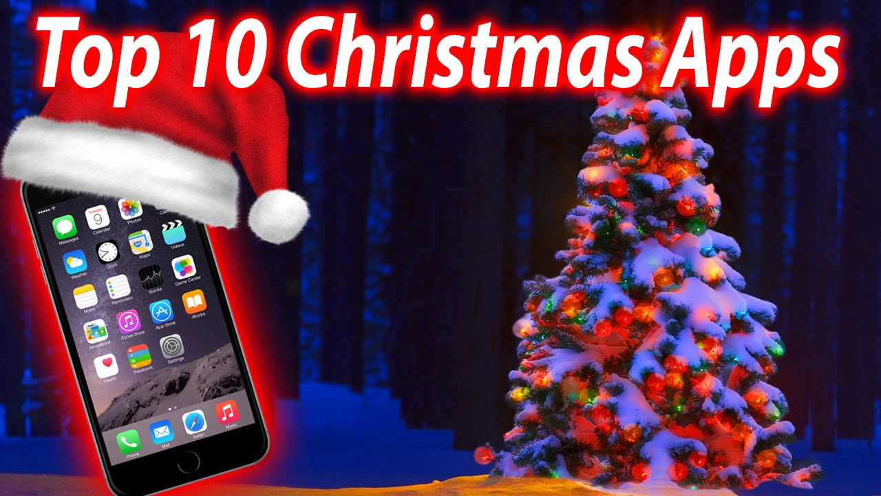 Top 10 Christmas Apps iPhone, iPad and iPod Touch - YouTube