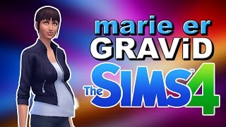 MARiE ER GRAViD! | Norsk The Sims 4 | #81