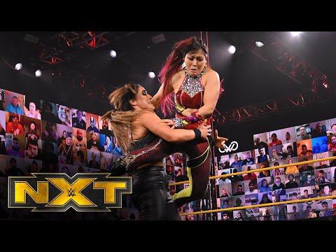 Women's Champion Io Shirai & Zoey Stark vs. Raquel Gonzalez & Dakota Kai: WWE NXT, March 24, 2021
