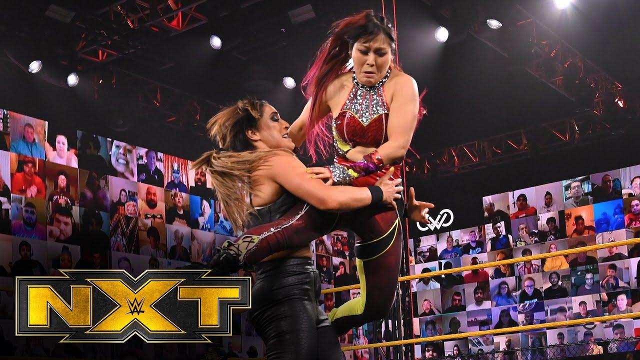 Women's Champion Io Shirai & Zoey Stark vs. Raquel González & Dakota Kai: WWE NXT, March 24, 2021
