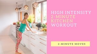 2 Minute High Intensity (HIIT) workout