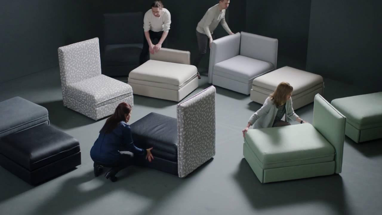 ikea vallentuna youtube. Black Bedroom Furniture Sets. Home Design Ideas