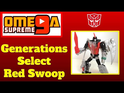 Transformers Generations Selects Deluxe Red Swoop Exclusive In Stock