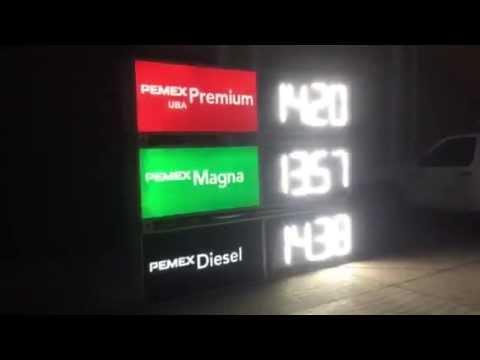 Nuevos tableros electr nicos pemex translucidos youtube - Tablero aglomerado precio ...
