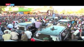 President Uhuru and DP Ruto mock NASA's choice of candidates