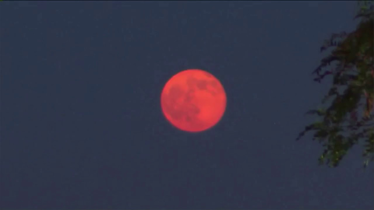 red moon 2018 today - photo #16