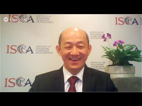 G+ Hangout on Air with ISCA President Dr Ernest Kan