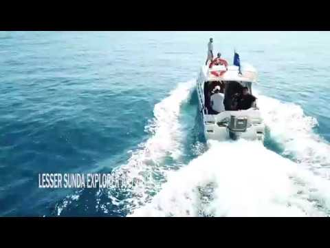 DRONE SPEED BOAT OCEAN EXPRESS WITH LESSER SUNDA EXPLORER LOMBOK 28 JULI 2019