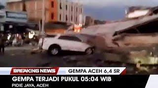Suasana Sesaat Setelah Gempa 6,4 SR Guncang Pidie Aceh
