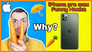 Δοκιμάζω hacks με το νέο iPhone Pro Max | Tsede The Real
