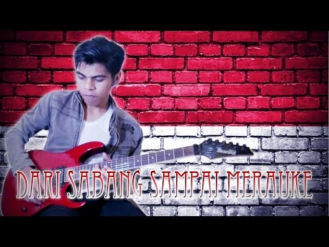 Dari Sabang Sampai Merauke Versi Punk Rock Guitar Cover By Mr. JOM