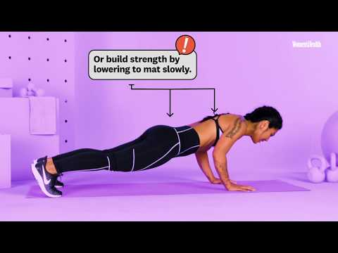 How To Perfect Your Pushups With Betina Gozo | #WorkoutWednesday | Women's Health